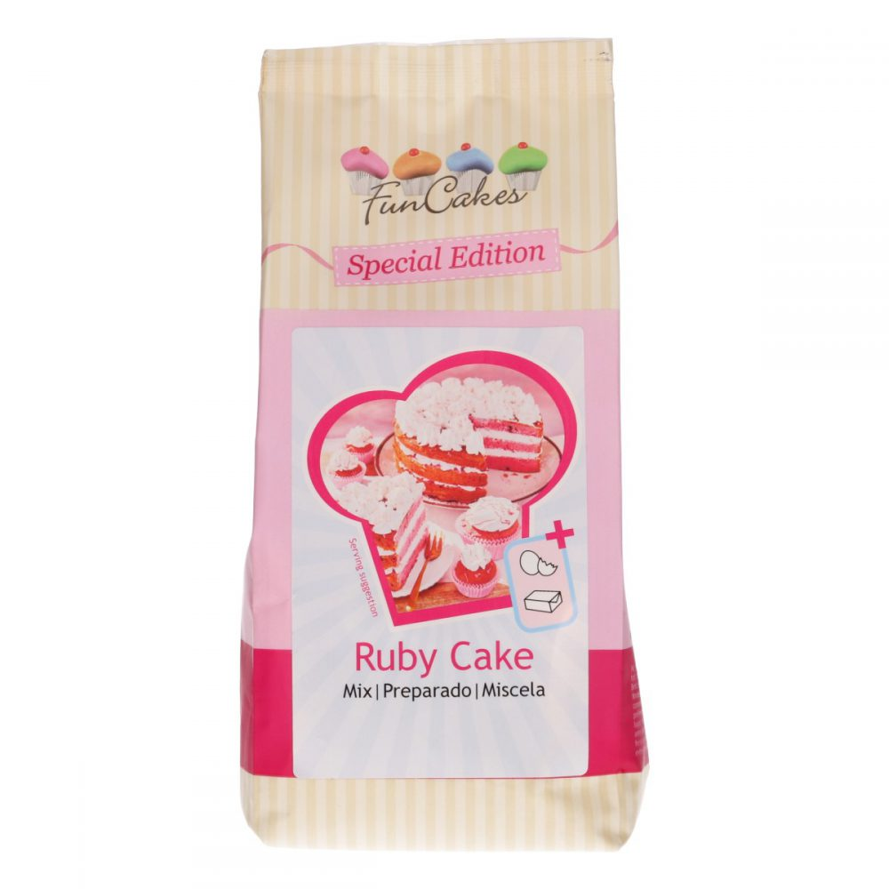 Mix for Ruby Cake