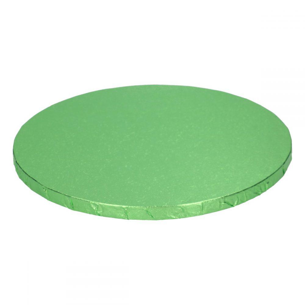 Cake Drum Rond Licht Groen