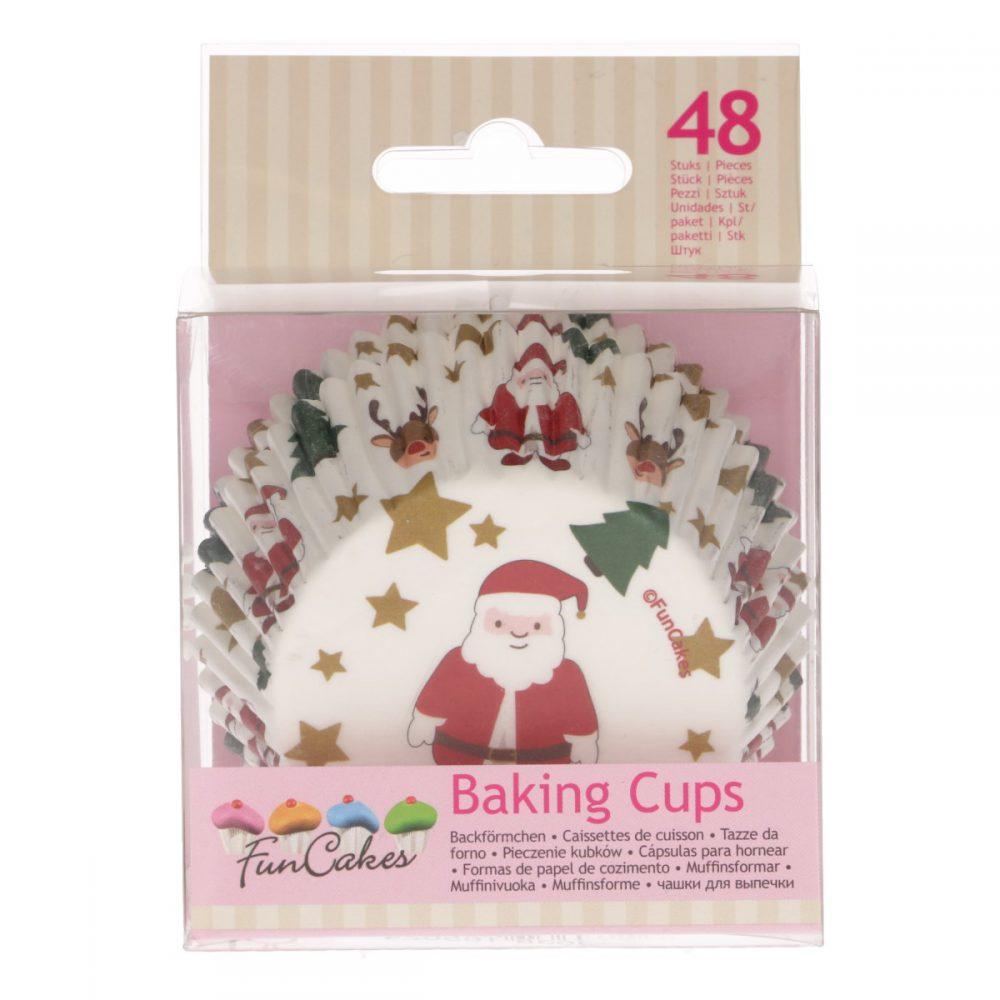 Baking Cups Kerst