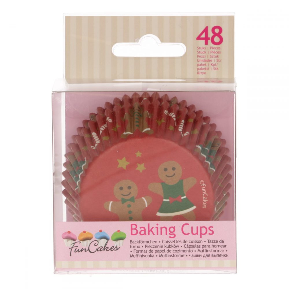 Baking Cups Gingerbead