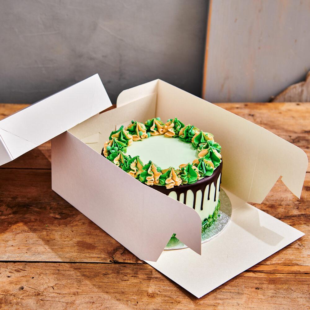 Taartdoos & Rond Cake Board