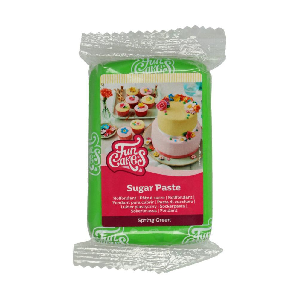 Sugar Paste Spring Green