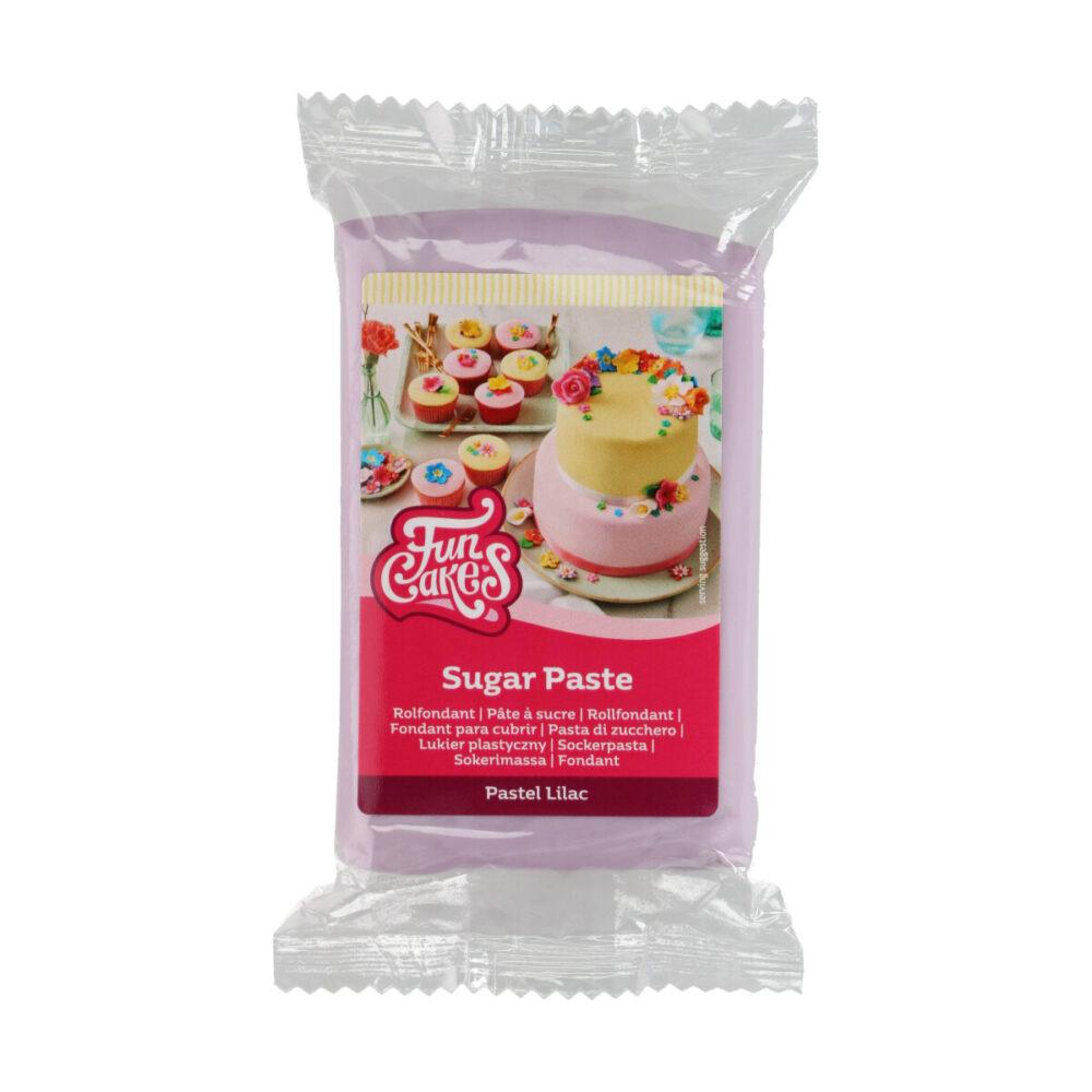 Sugar Paste Pastel Lilac