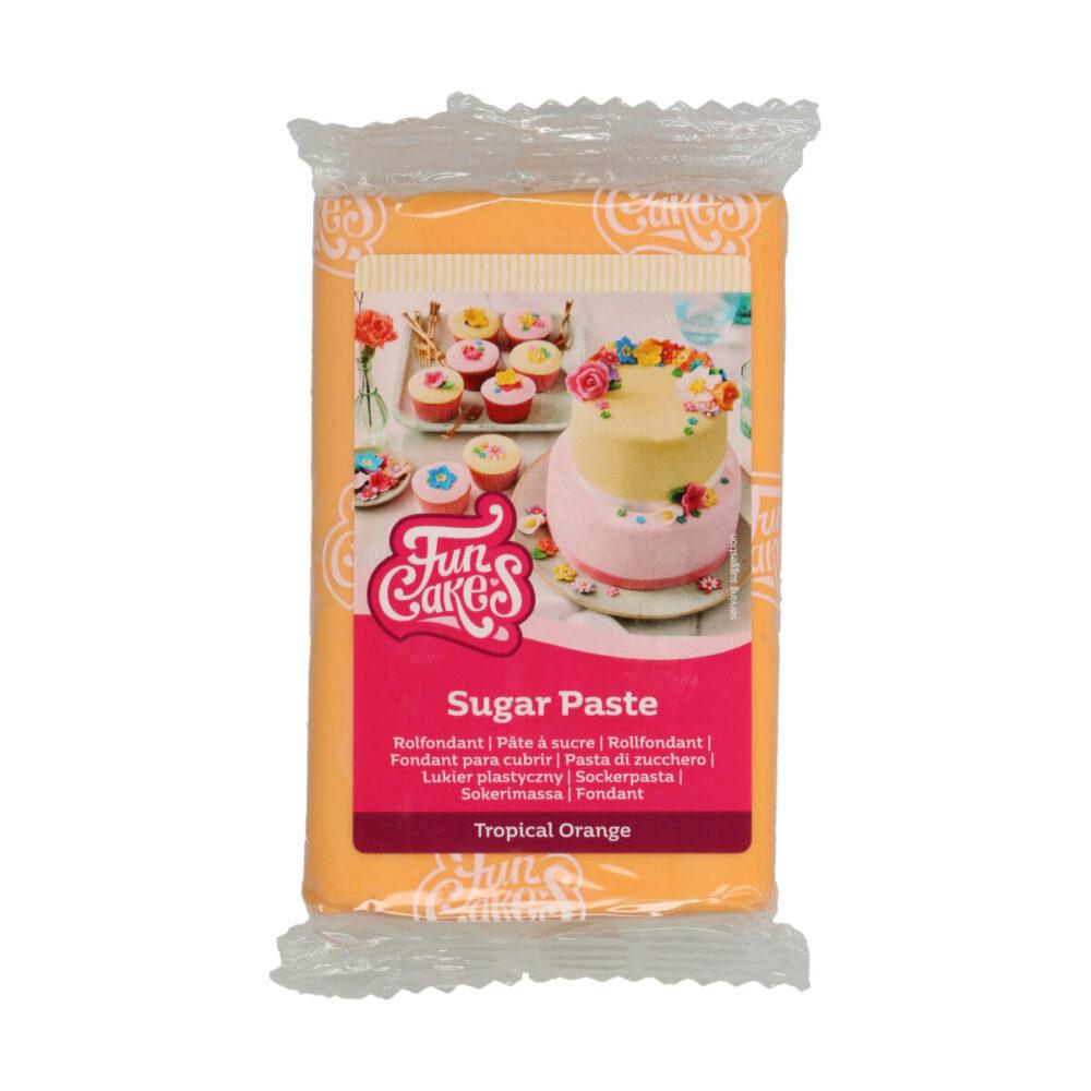 Sugar Paste Tropical Orange