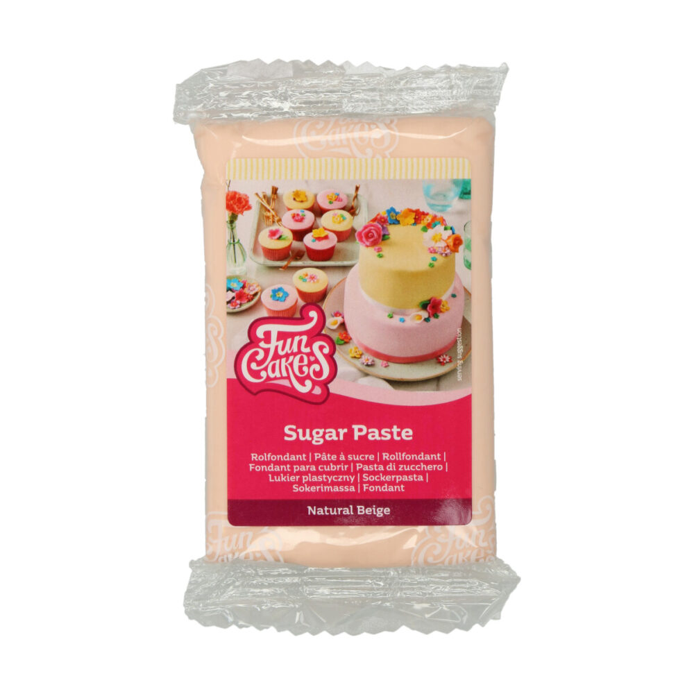 Sugar Paste Natural Beige
