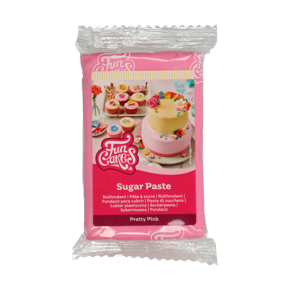 Sugar Paste Pretty Pink