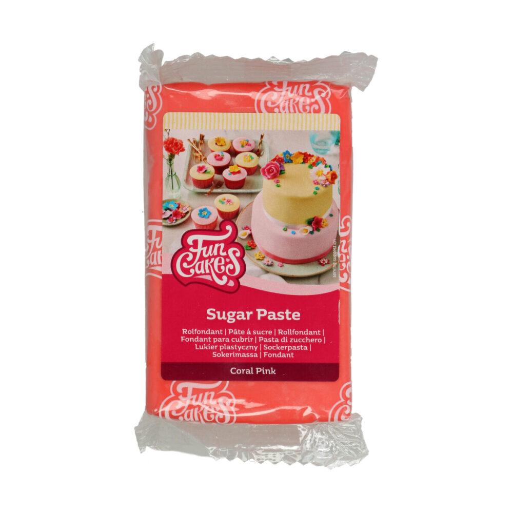 Sugar Paste Coral Pink