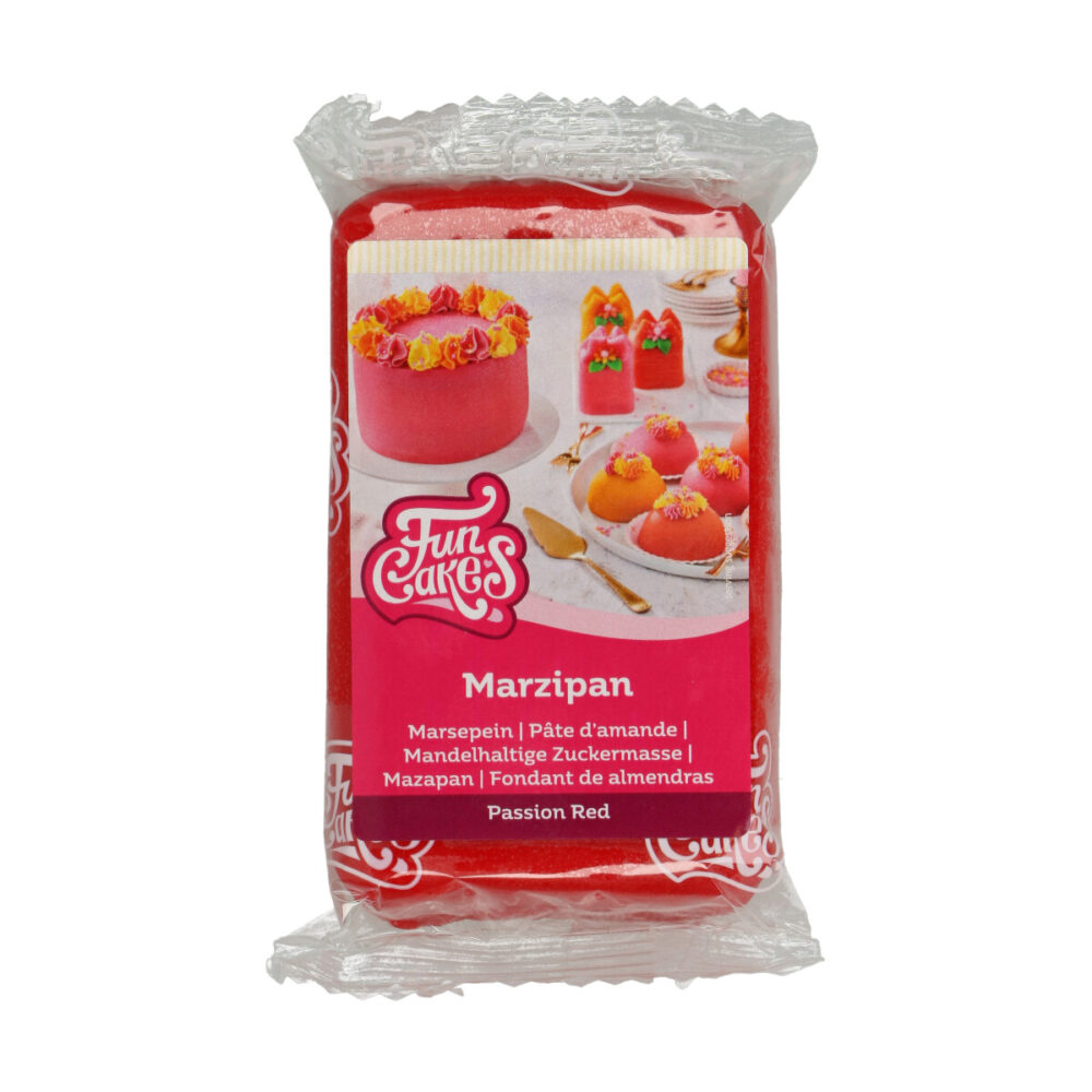 Marsepein Passion Red