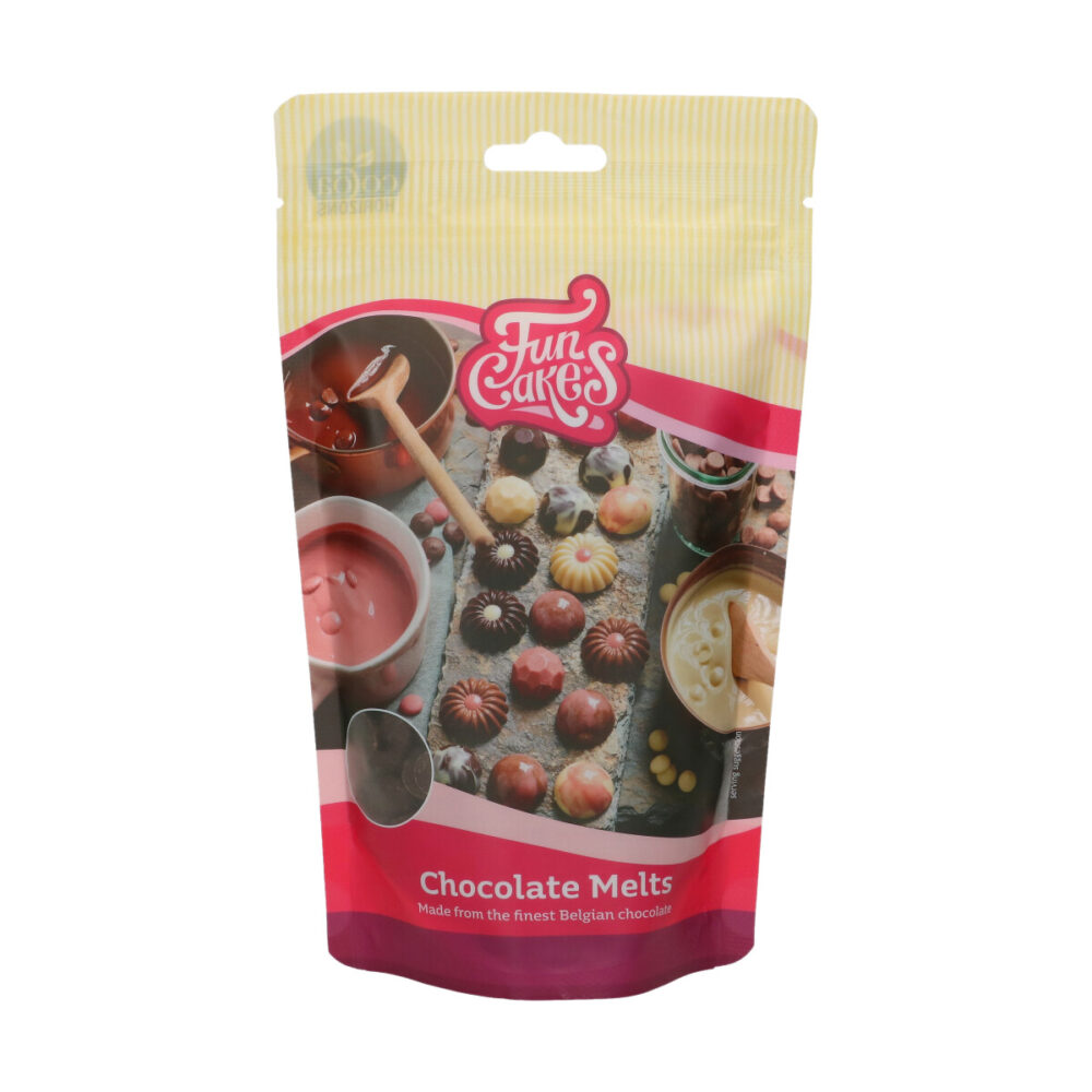 Chocolade Melts Puur