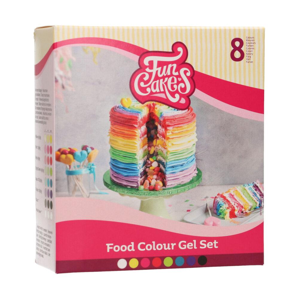 Food Colour Gel Set