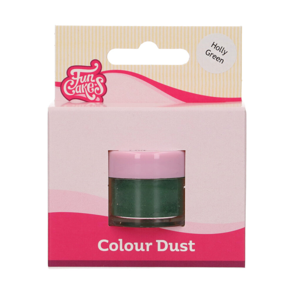 Colour Dust Holly Green