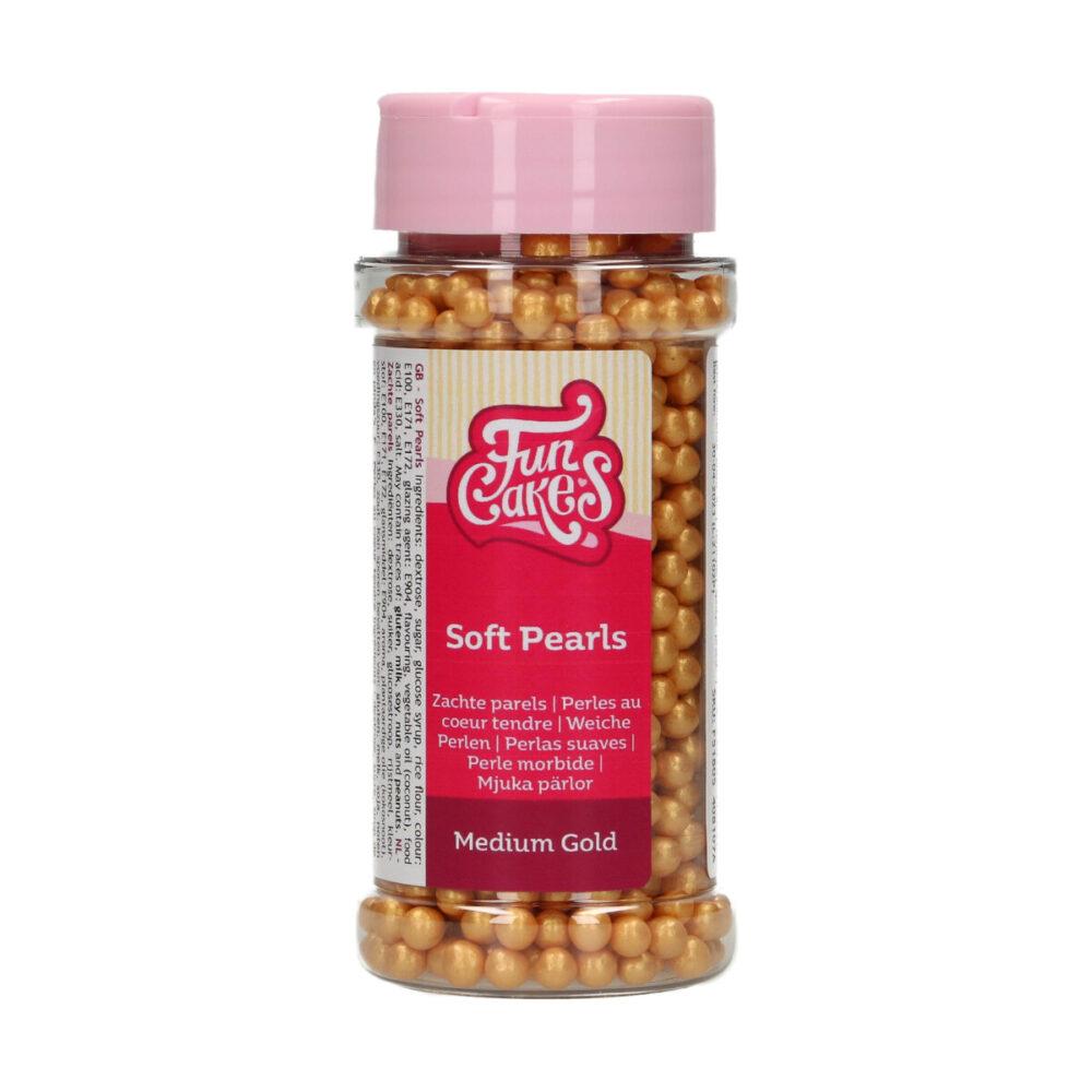 Soft Pearls Medium Gold