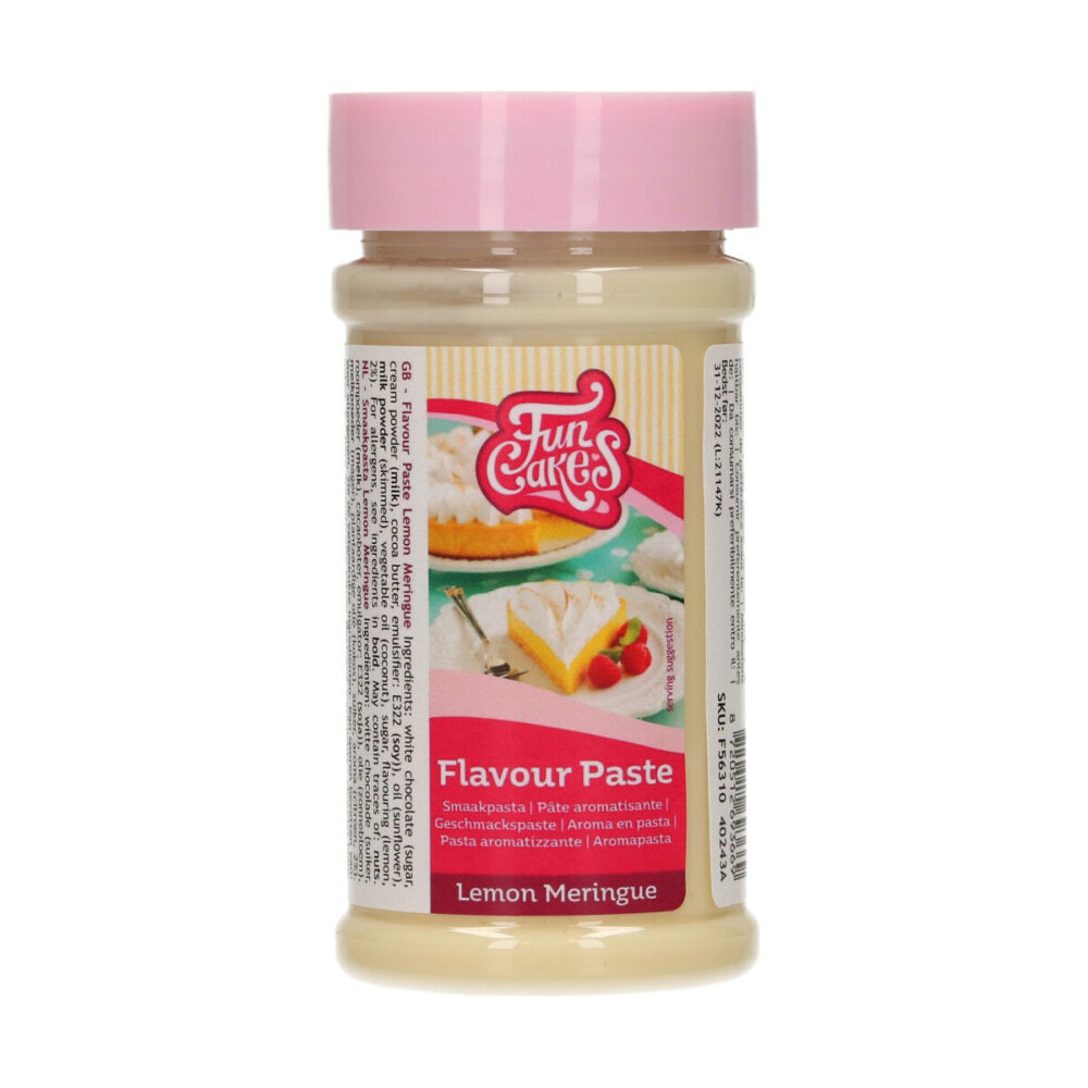 Smaakpasta Lemon Meringue
