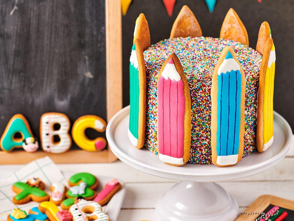 FunCakes Recept Back To School Taart