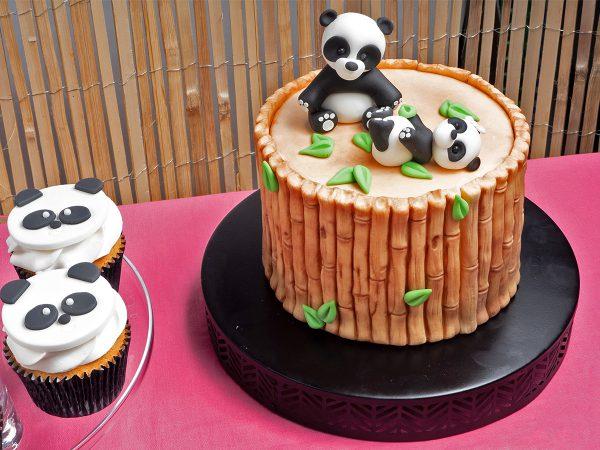 FunCakes Recept Bamboe Panda Taart