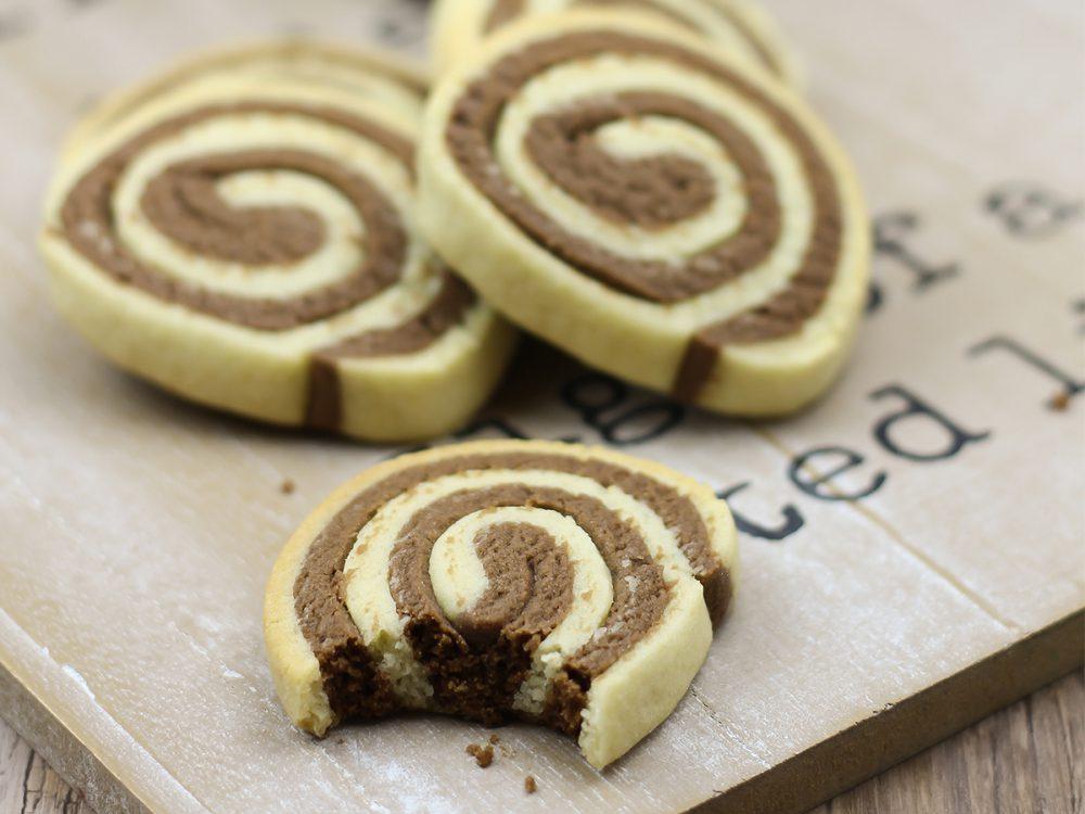 FunCakes Recept Chocolade Swirl Koekjes