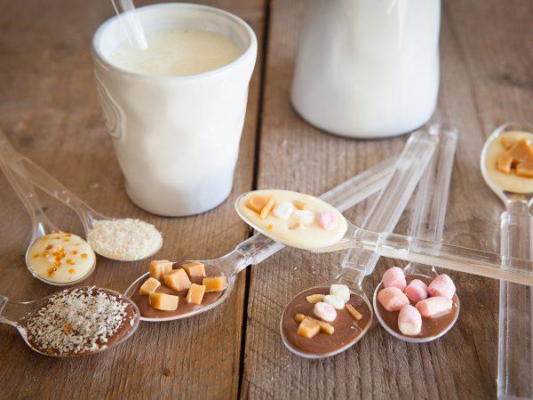 FunCakes Recept Chocoladelepels Voor Zelgemaakte Chocolademelk