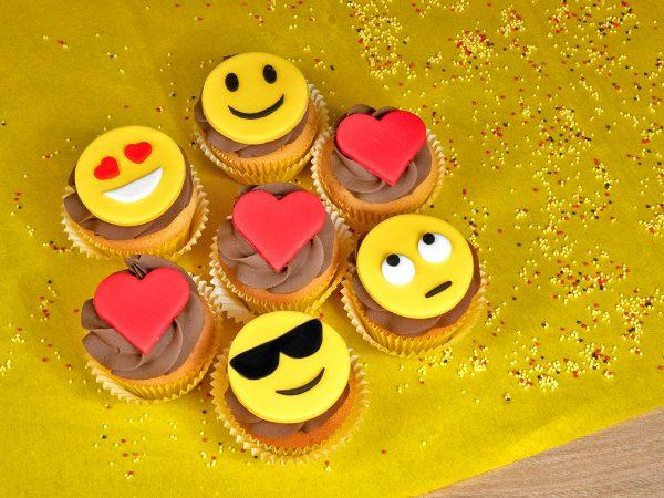 FunCakes Recept Emoji Cupcakes