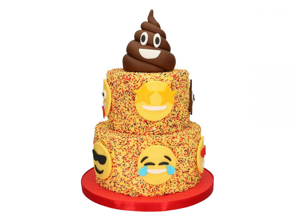 FunCakes Recept Emoticon Taart