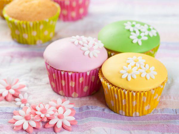FunCakes Recept Fondant Cupcakes