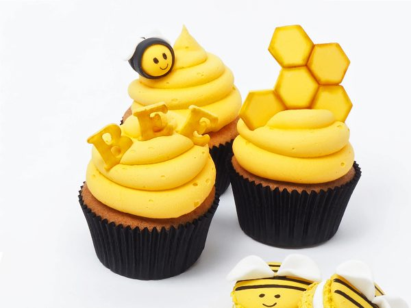 FunCakes Recept Happy Bee Cupcakes