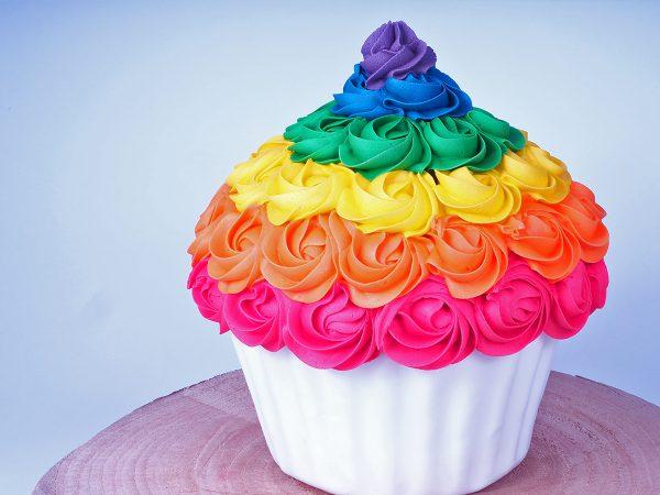 FunCakes Recept Mega Cupcake Taart