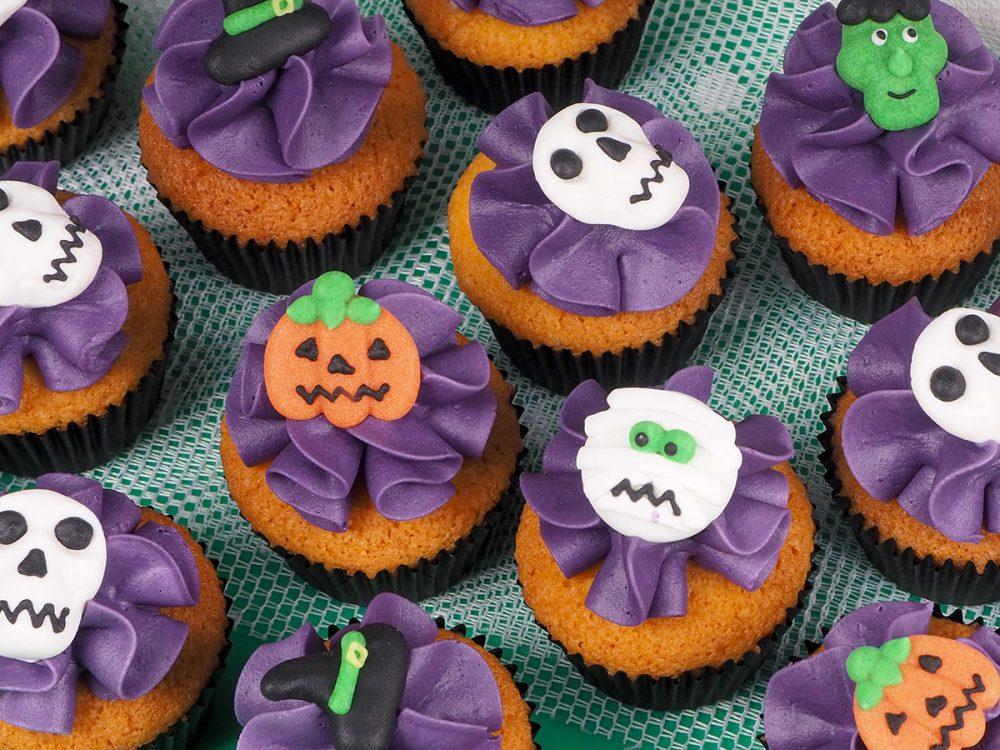 FunCakes Recept Mini Halloween Cupcakes