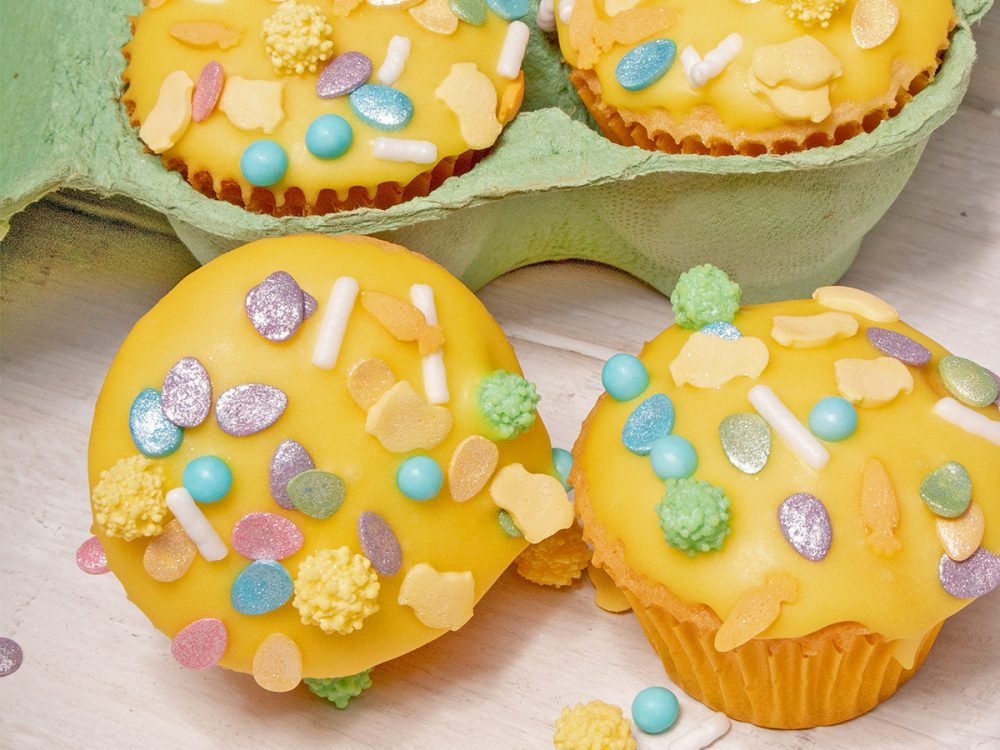 FunCakes Recept Mini Paas Cupcakjes