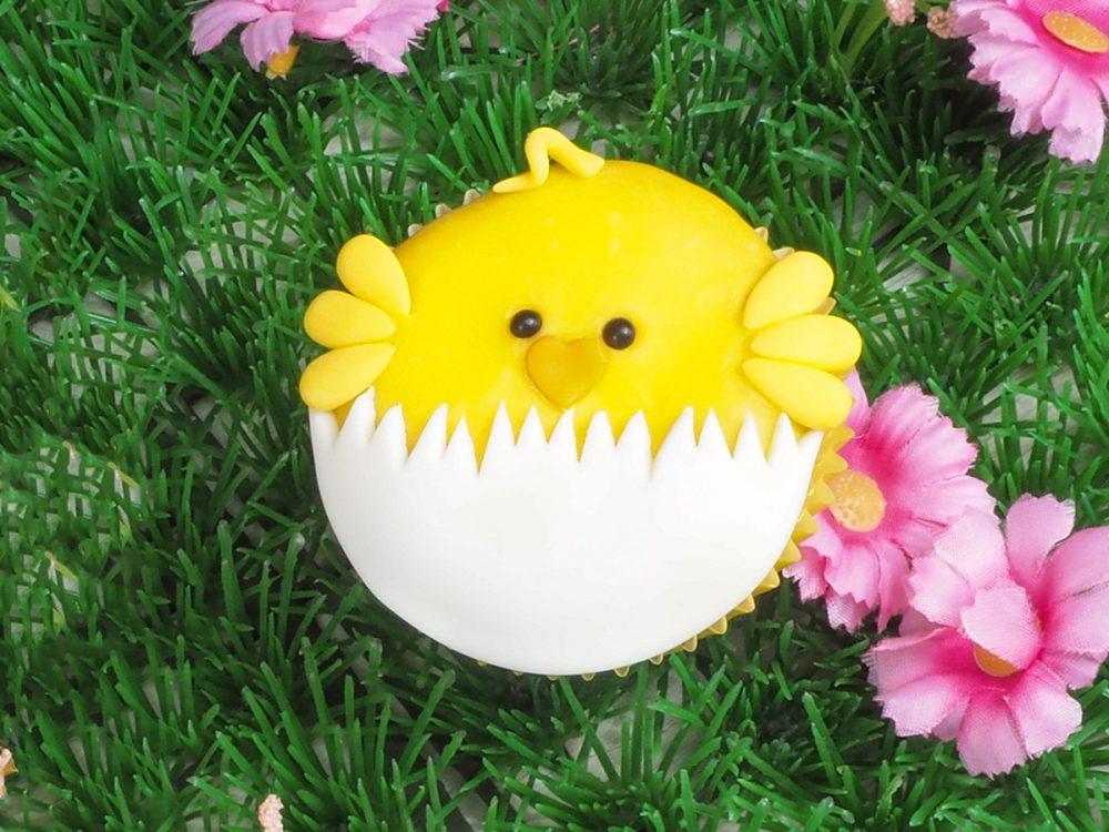 FunCakes Recept Paaskuiken Cupcakes