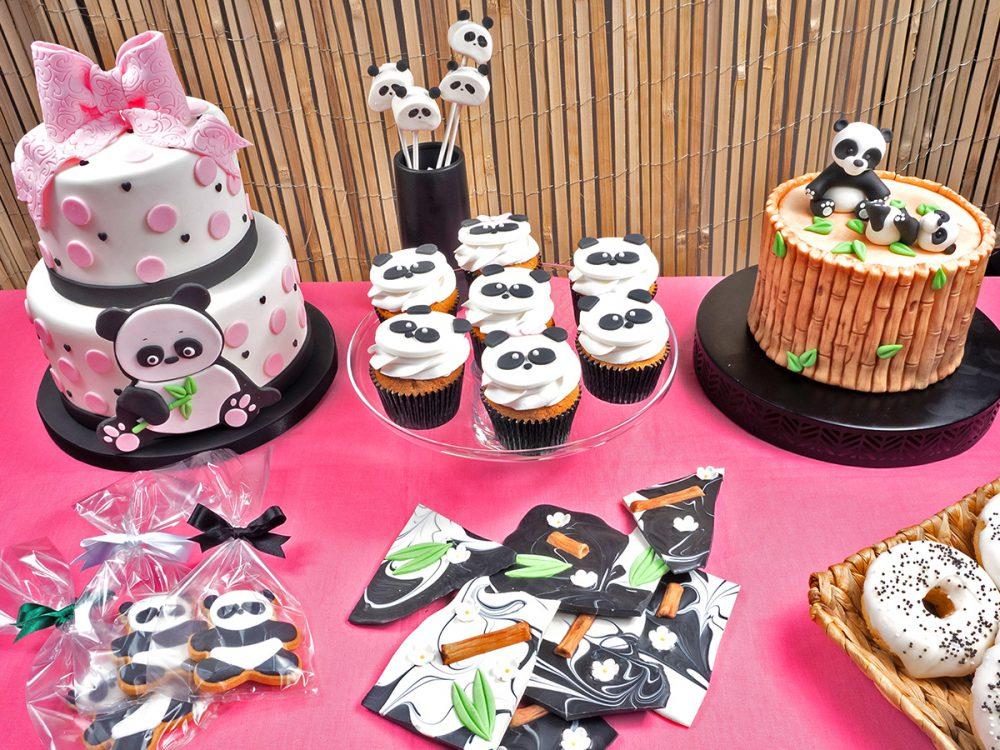FunCakes Recept Panda Cupcakes