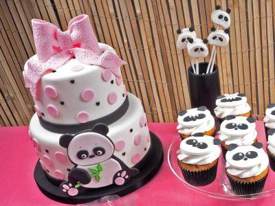 FunCakes Recept Pink Panda Taart