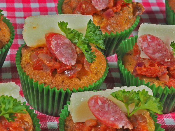 FunCakes Recept Pizza Cupcakes