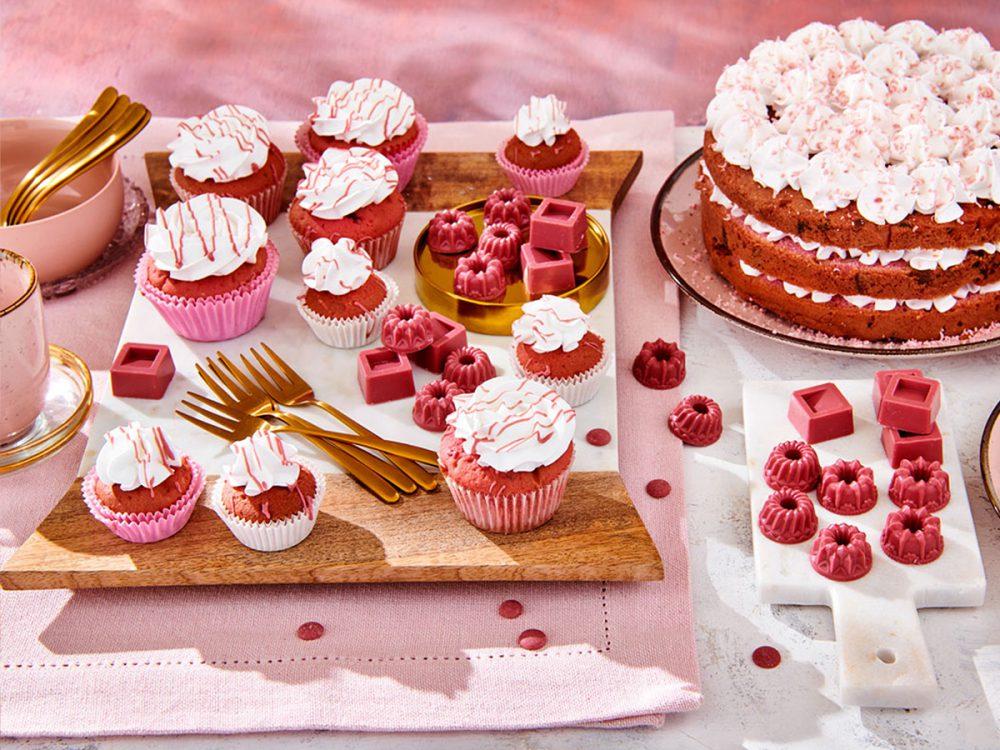 FunCakes Recept Ruby Cupcakes
