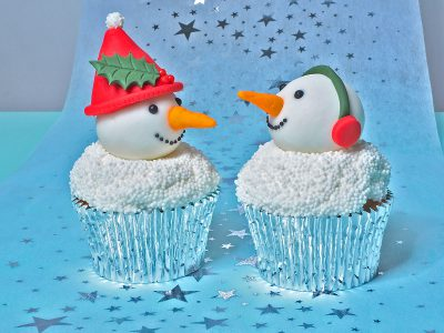 FunCakes Recept Sneeuwpop Cupcakes