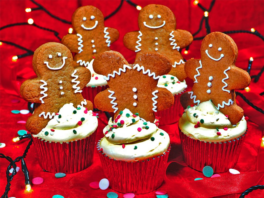 FunCakes Recept Speculaas Gingerbread Cupcakes