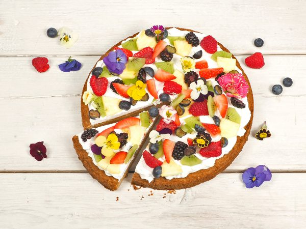 FunCakes Recept Sweet Pizza Taart