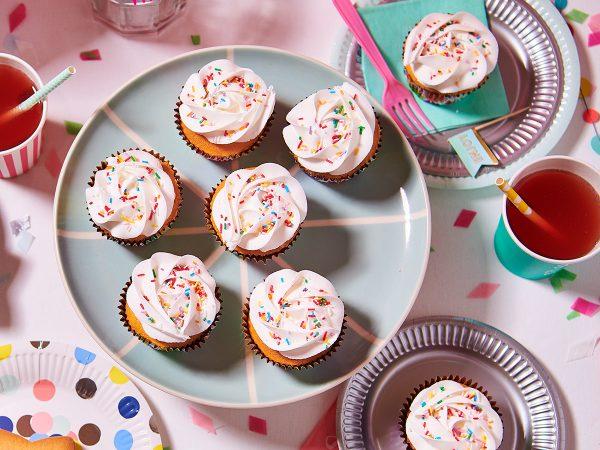 FunCakes Recept Verjaardag Cupcakes