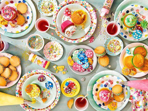 bakfeestje met kinderen