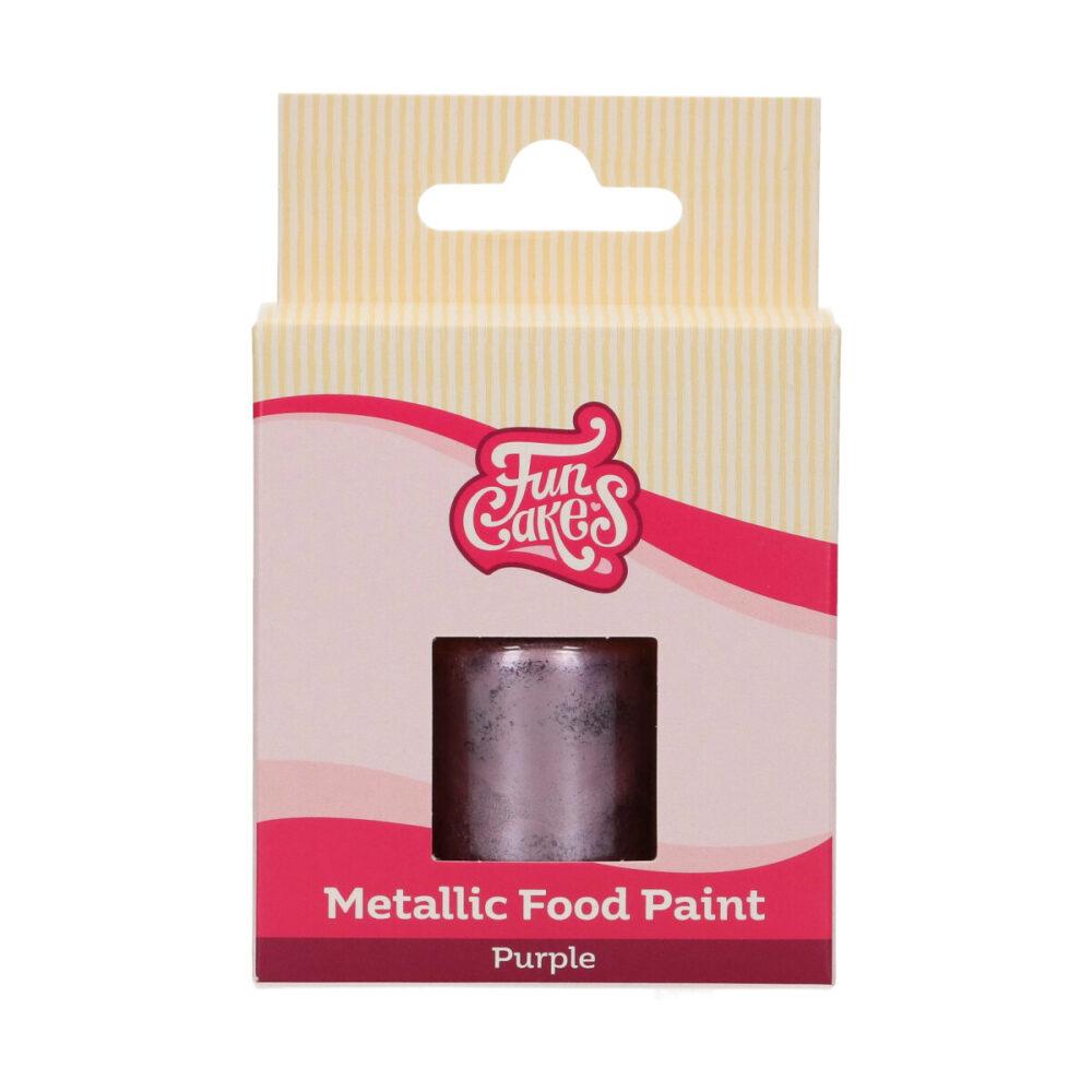 Metallic Food Paint Paars