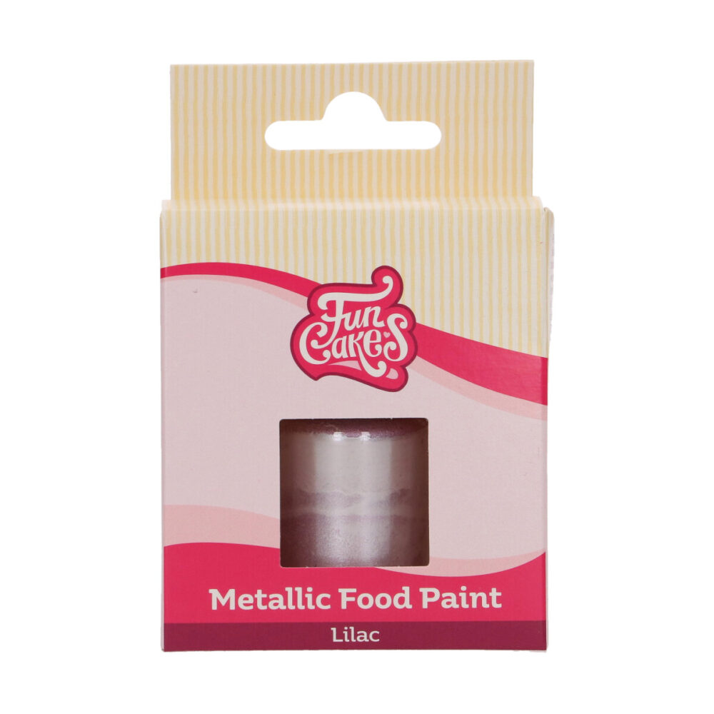 Metallic Food Paint Lila