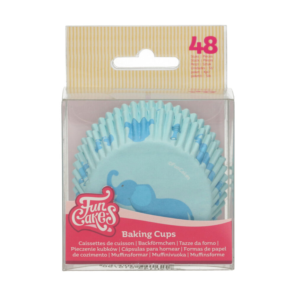 Baking Cups Baby Blauw