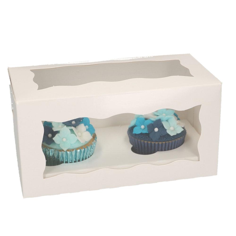 FunCakes cupcake doosje voor 2 cupcakes