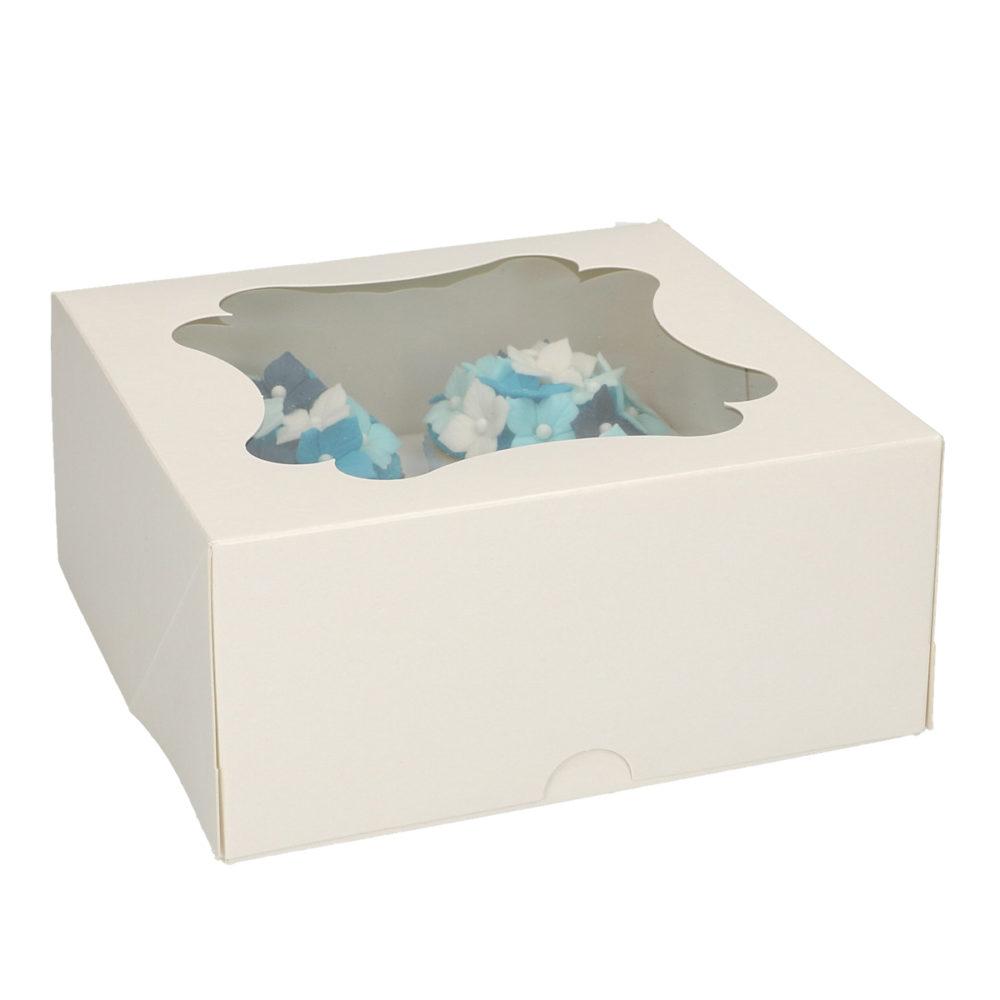 FunCakes cupcake doosje voor 4 cupcakes