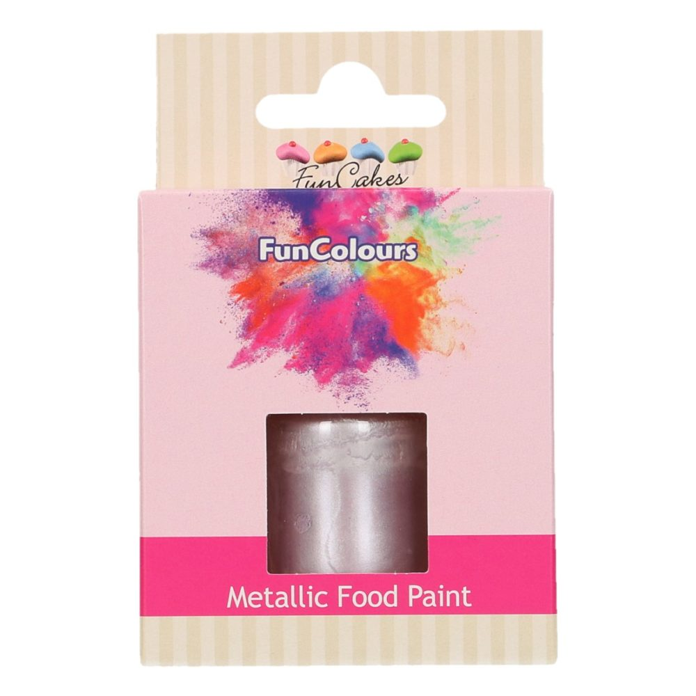 FunCakes FunColours Metallic Food Paint Lilac