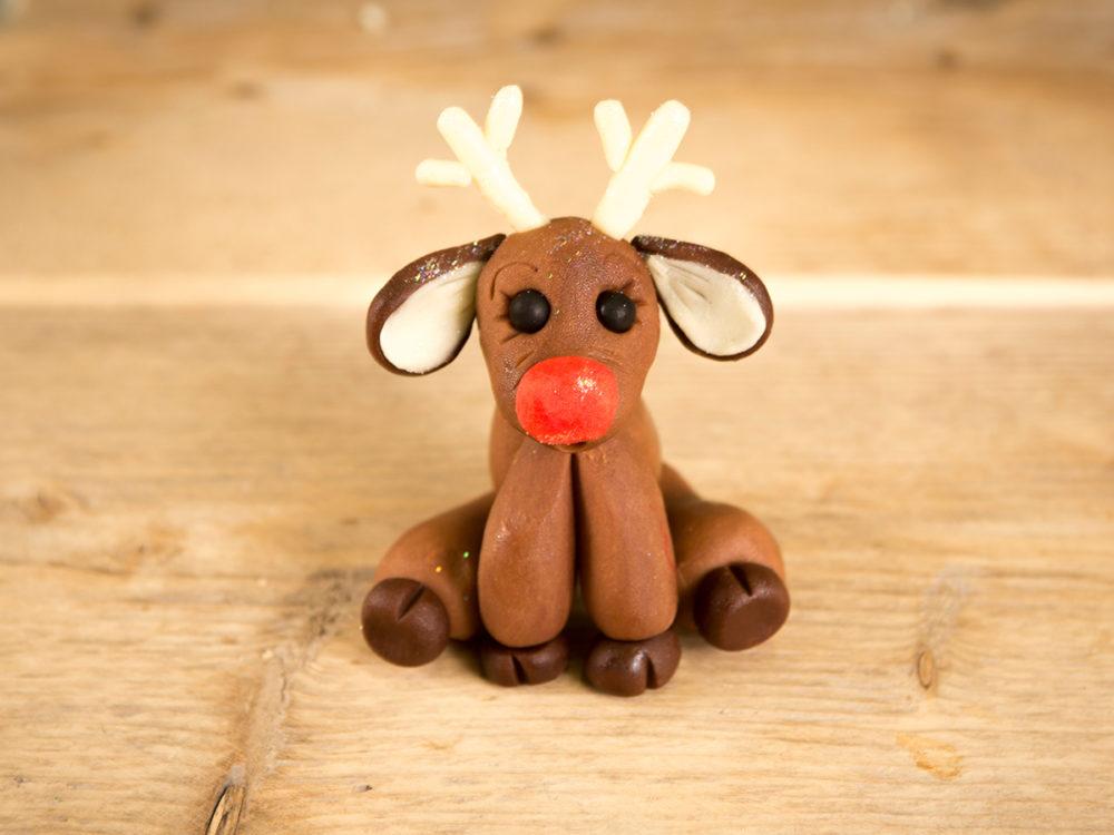 Chocolate Rudolph reindeer