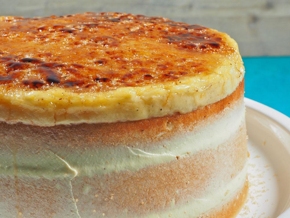 Crème brûlée taart