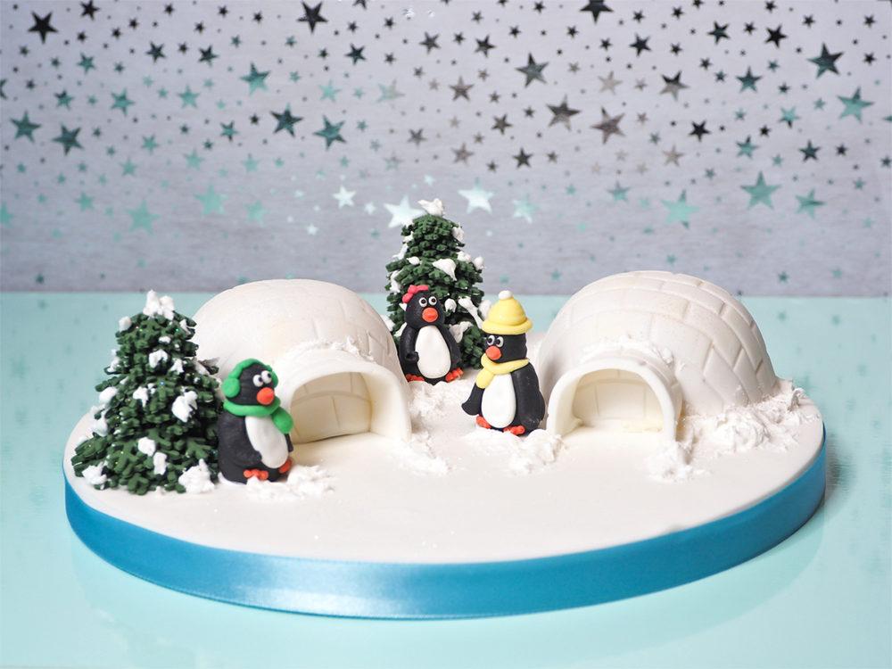 Mini iglo taartjes