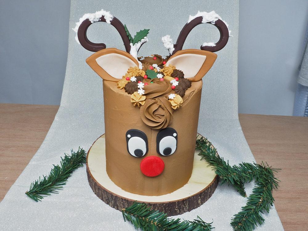 Rudolf het rendier taart