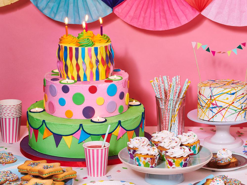 Birthday cake for at school