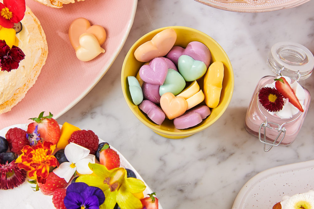 Candy hearts from Deco Melts